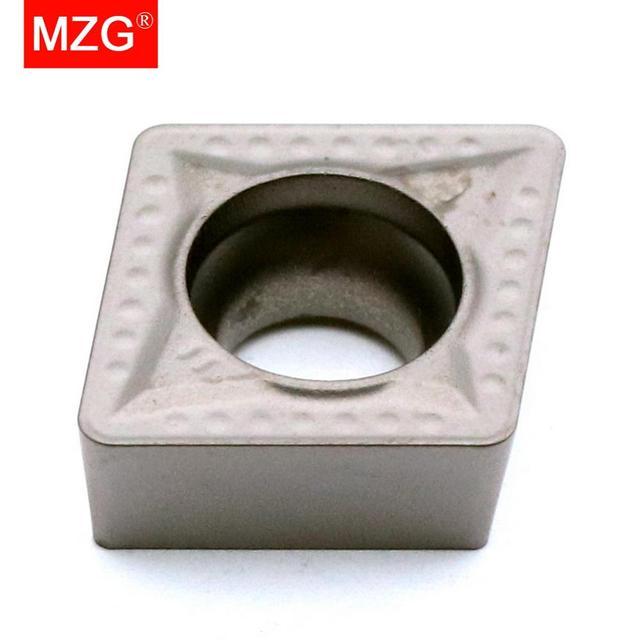 MZG remise prix CCMT09T308 MT ZN60 tournant alésage coupe CNC carbure Cermet Inserts pour le traitement de lacier SCLC porte outil