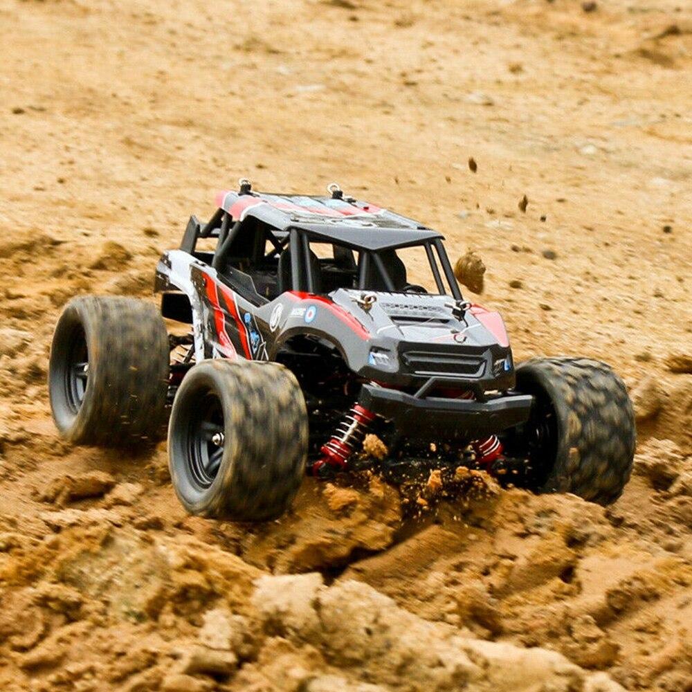 RC Cars 1:18 tout-terrain télécommande haute vitesse escalade voiture quatre roues motrices pleine échelle course véhicule jouets pour enfants