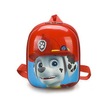 New Paw Patrol Dog Kindergarten Baby Fashion Eggshell School Bag Backpack Anti-lost Rope Action Figures Children Birthday Gifts paw patrol dog cartoon plush backpack skye 3 7year chase small school bag soft harmless children action figures patrol backpack kindergarten multiple styles birthday gift outing mandatory with fruit with toys