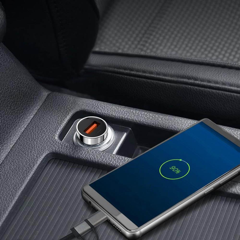 Быстрая зарядка 4,0 3,0 USB C автомобильное зарядное устройство для Huawei P30 Xiaomi Mi9 мобильный телефон QC4.0 QC3.0 Type C PD 3,0 Быстрая автомобильная зарядка