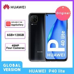 Перейти на Алиэкспресс и купить huawei p40 lite global version 6gb 128gb 6.4'' fhd scree 48mp ai cameras smartphone kirin 810 octa core 40w qc