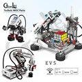 High tech Programmierung Serie die EV3 Roboter Modell Bausteine Bildung Set DAMPF Kompatibel Für EV6 45544 Robotik DIY Spielzeug