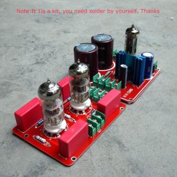 цена на Tube 6N3 SRPP DIY Dual 180V-230V Buffer Preamplifier Pre AMP kit