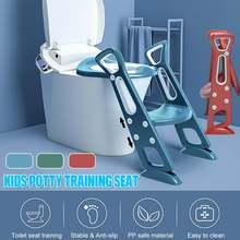 Folding Baby Potty Infant Kids Toilet Training Seat With Saf