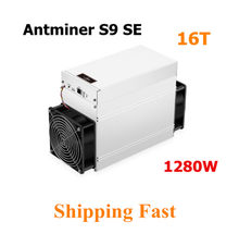 Bitmain usado asic btc mineiro antminer s9 se 16th/s bitcoin bch mineiro melhor do que antminer s9 13.5t 14t s9k s11 s15 s17 t9 + t15