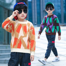 Baby Sweater For Boy Elegant Colorful Knitted Kids Clothes Boys Autumn Teenagers Winter Children Knittwear