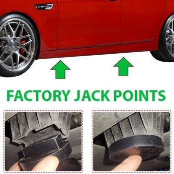 Rubber Jacking Point Jack Pad Adaptor For BMW 3 4 5 Series E46 E90 E39 E60 E91 E92 X1 X3 X5 X6 Z4 Z8 1M M3 M5 M6 F01 F02 F30 F10 image