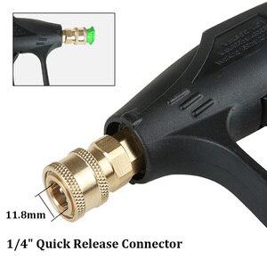 Image 4 - جهاز تنظيف يعمل بالضغط العالي ID22 x 1.5 مللي متر آلة غسل سيارات بندقية بندقية رذاذ مع 5 فوهات لتنظيف السيارات ضغط الطاقة غسالات مدفع المياه