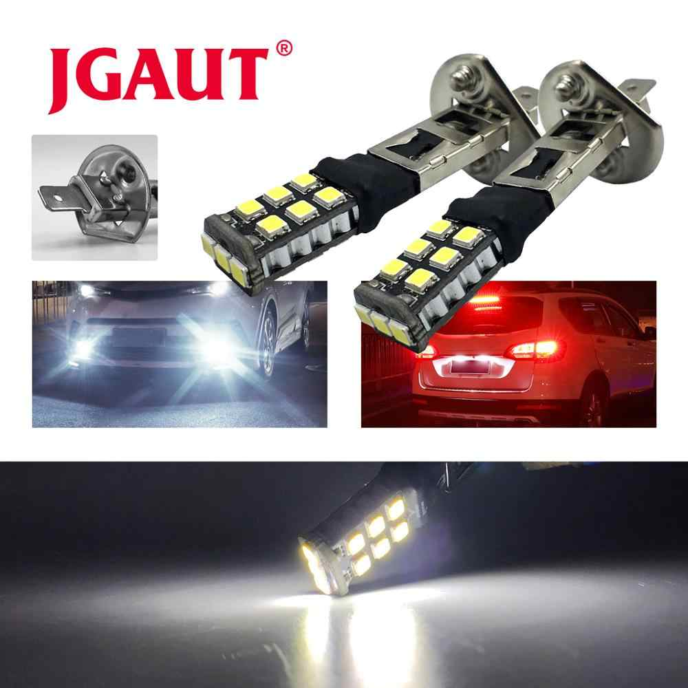 H1 3528 9 SMD CANBUS Fog Lamp LENS Light LED Car Bulb Reverse Light Brake Turn Signal Lights source parking auto lamp HIGH LOW
