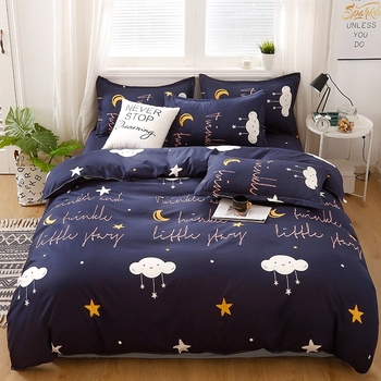Nordic Bedding Set Cloud And Stars 32