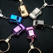 Car Styling High-end LED Light Key Ring Auto Keychain Keyring for Audi A3 A4 B6 BMW E36 E46 F10 Buick Excelle Chevrolet Chevy v8