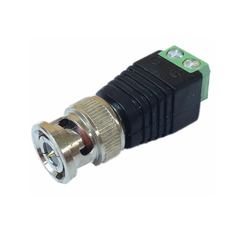 HQCAM Free Shipping 10PCS BNC CCTV Connectors For AHD Camera CVI Camera TVI Camera CCTV Camera Coax/Cat5/Cat6 Cables
