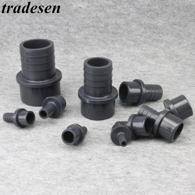 1pcs Plug O.D20mm To 32mm  Hose Connector Quick Connector Hard Tube Plastic Pagodas Joint Pvc Pipe Adapter For Garden Irrigation