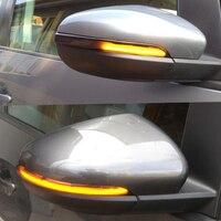 2PCS Dynamic Led Turn Signal Light Mirror Indicator For VW Golf Mk6 Gti 6 Vi R20 Touran Mirror Turn Signal Lamp Indicator