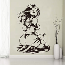 Aiyoaiyo крутая сексуальная женщина Наклейка на стену для девичьей