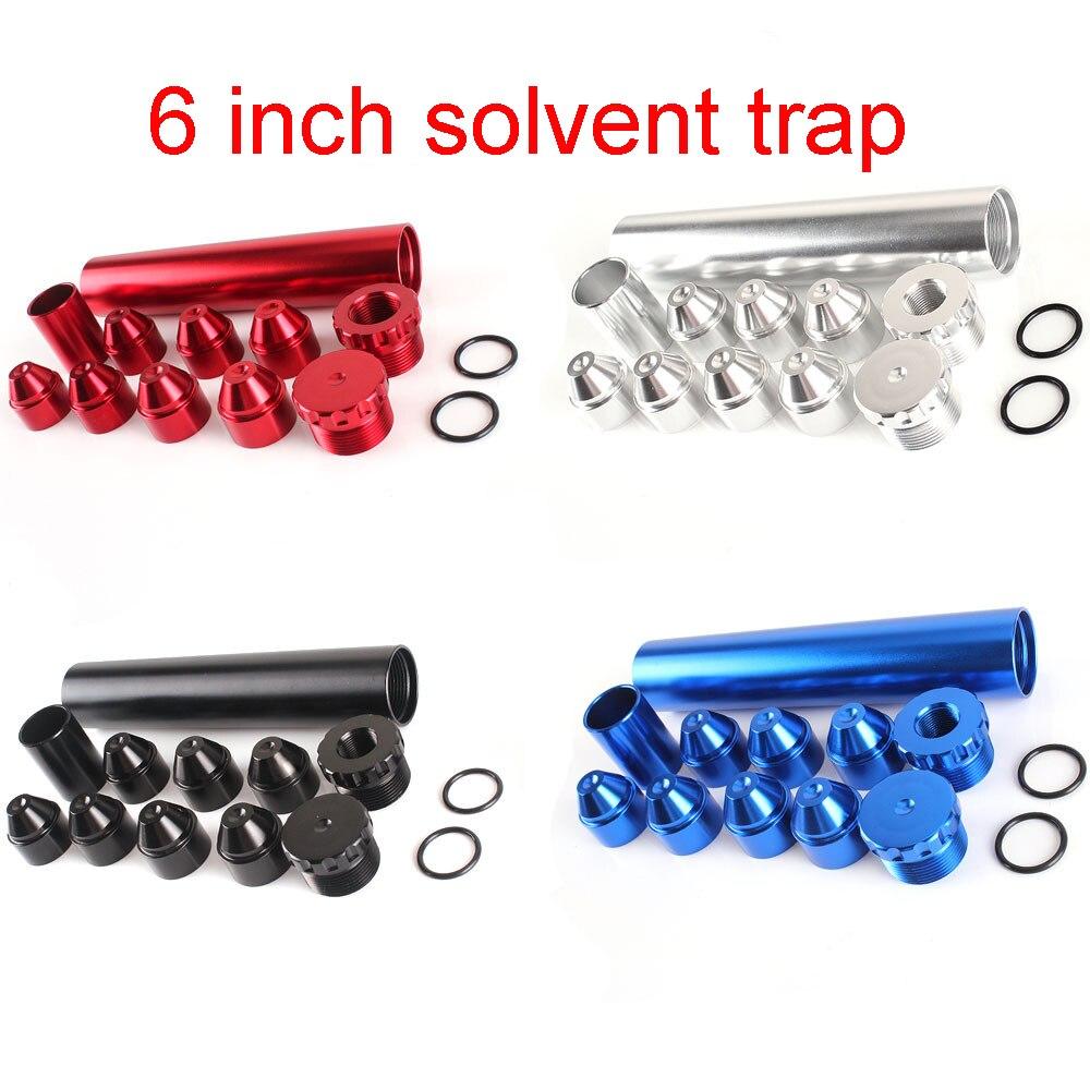 4 цвета Классический 6-дюймовый топливный фильтр для Napa 4003 и Wix 24003 автомобиля 1/2-28 и 5/8-24 алюминия. Только для использования в автомобиле, ловуш...