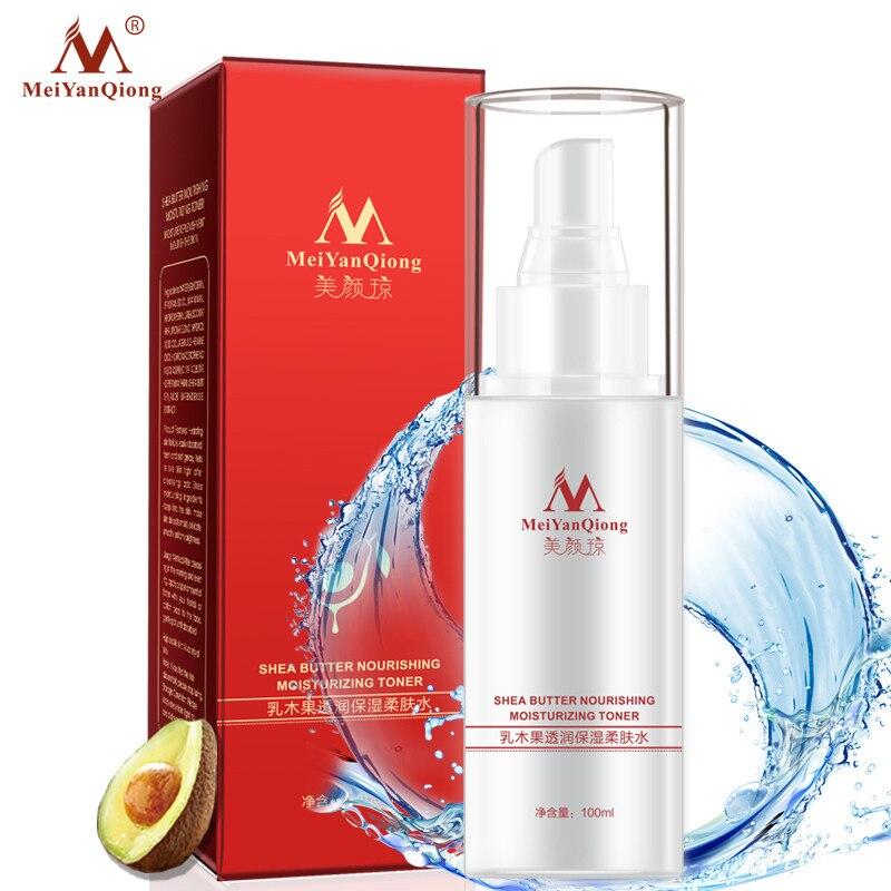meiyanqiong toners de manteiga de karite hidratante colageno rosto cuidados com a pele hidratante branqueamento acne