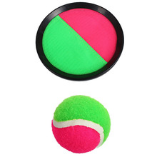 NEW Sticky Ball BatsToy Set Throw and Catch Outdoor Sports Catch Ball Game Set