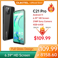 [In Stock] Oukitel C21 pro Smartphone 4GB 64GB 6.39 1