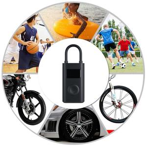 Image 2 - Xiaomi Electric Inflator Pump Smart Digital Tire Pressure Detection For Scooter Bike Motorcycle Scooter M365 Pro Car Football