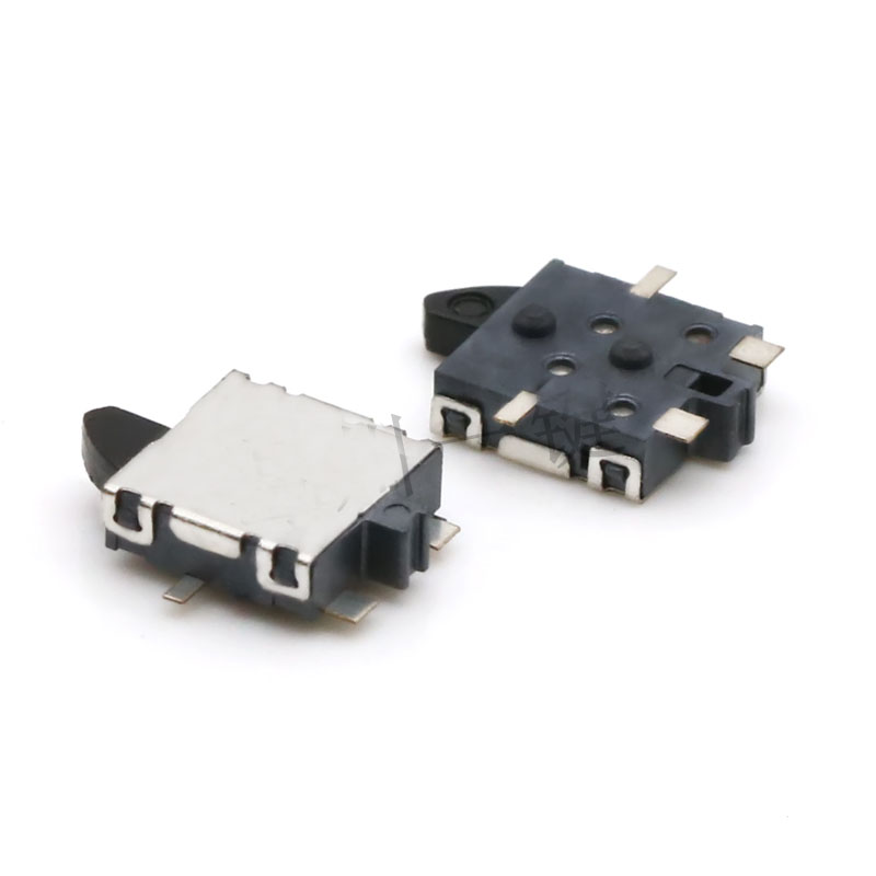 10pcs Two Way Operation Momentary Detector Switch 4 Pin SMD 5.5 x 6.5 x 2mm