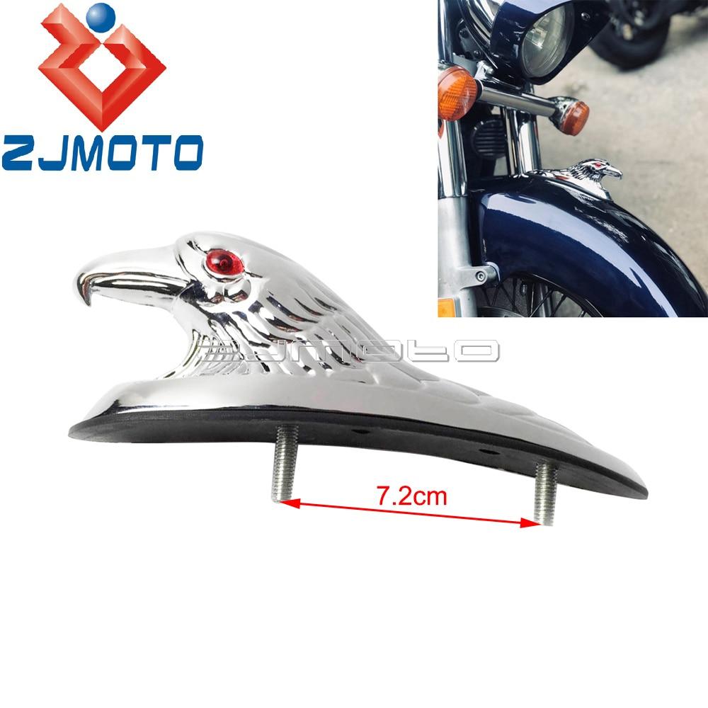 2 Pair Metal Custom Chrome Amber Indicators Motorcycle Bike Trike Motorbike