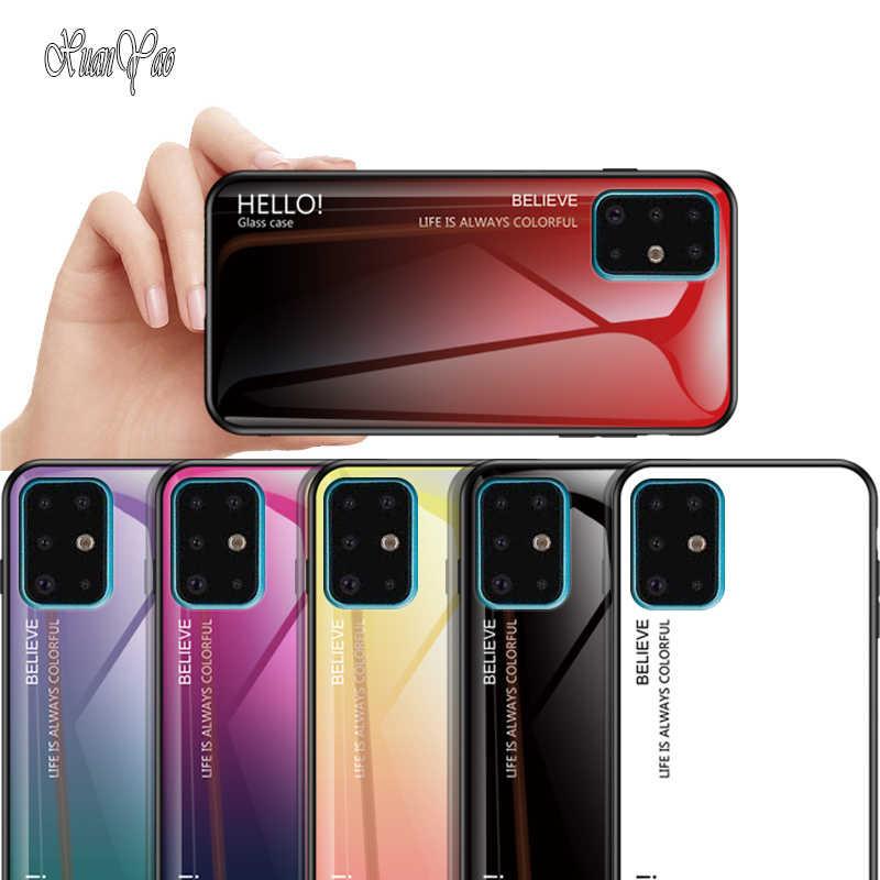 XUANYAO pokrywa dla Samsung Galaxy S7 S8 S9 S10 S20 Plus sprawa S20 + miękka rama Coque dla Samsung Galaxy S20 Ultra S10 S9 S8 S7 krawędzi