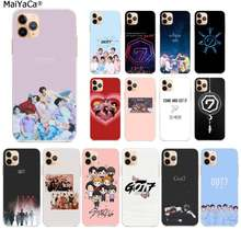 Maiyaca Kelompok Boy Kpop GOT7 TPU Transparan Ponsel Case Penutup Shell UNTUK iPhone 11 Pro XS MAX 8 7 6 6S Plus X 5 5S SE XR Cover(China)
