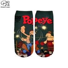Летние Мультяшные носки plstar cosmos с 3 рисунками модные матросским