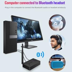 Image 3 - DISOUR Bluetooth 5.0 Transmitter 3.5mm AUX Coaxial Optical Fiber แจ็คสเตอริโออะแดปเตอร์ไร้สายสำหรับทีวี PC ลำโพงบลูทูธ