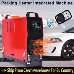 12V/24V 5KW Four-hole Car Heater Air Diesel 4 Holes Engine Parking Heater Intelligent Car Parking Fuel Air Heater  For Car Truck