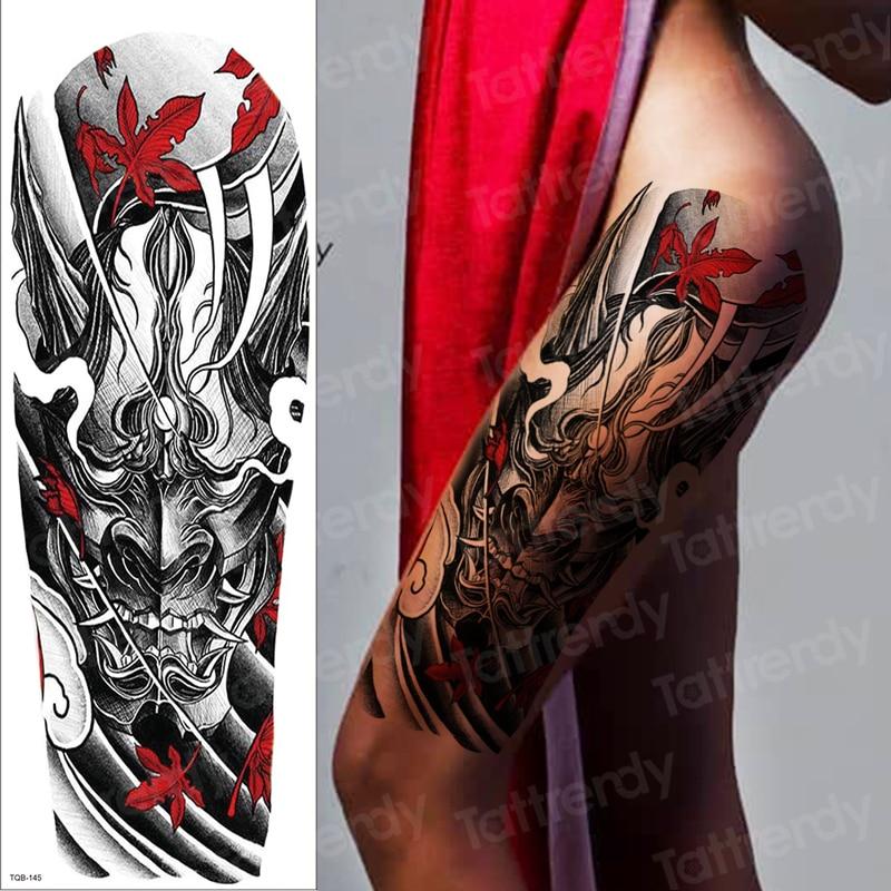Sexy Tattoo For Women Girls Temporary Tattoo Sheet Mechanical