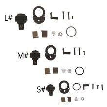 1/4 3/8 1/2 72 72 72 dentes catraca chave de soquete reparação acessório kit peça de reposição