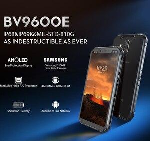 Image 2 - Blackview BV9600E 4ギガバイト128ギガバイトIP68頑丈なスマートフォン6.21 fhd + amoledアンドロイド9.0グローバル16MP P70愛オクタコアの携帯電話