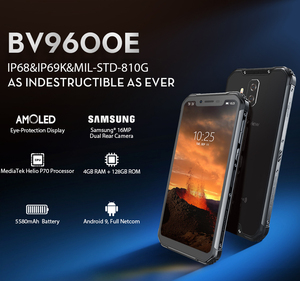 Image 2 - Blackview BV9600E 4GB 128GB IP68 Rugged Smartphone 6.21 FHD+ AMOLED Android 9.0 Global 16MP P70 AI Octa Core mobile phone