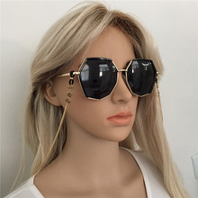 New Fashion Simple Design Glasses Chain Gold Color Chain Holder Cord Lanyard Necklace Eyewe