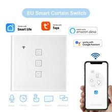 Tuya EU WiFi Vorhang Schalter für Elektrische motor Rollladen, Jalousien schattierungen Smart Hausaufgaben für Alexa,Google Hause