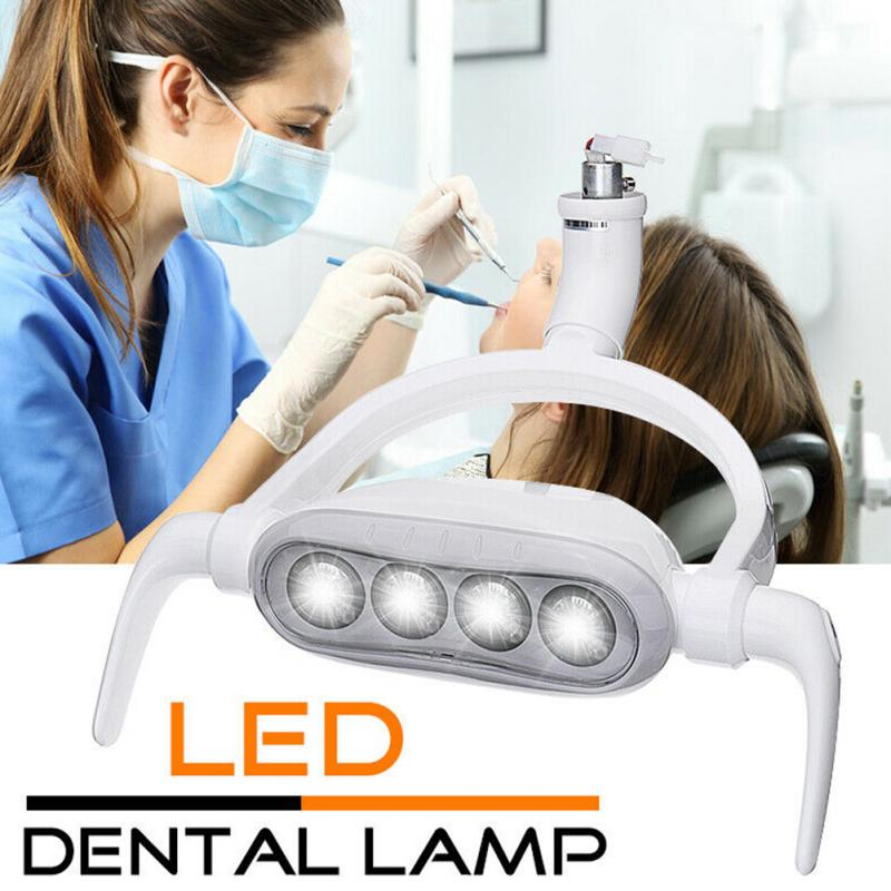 Opération 6300K 15W LED Induction lampe Oral facile installer dents soins dentaire chaise