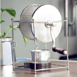 New Arrival Stainless Steel Roaster Manual Coffee bean roaster 1Pc Homeuse Manual Coffee Bean Roaster Stainless Steel
