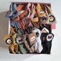 Милые короткие носки женские Харадзюку Kawaii летние забавные носки до щиколотки в упаковке Calcetines De La Mujer Корейский стиль женские носки из хлоп...