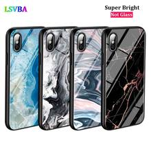 Black Cover Marble Tiles Stone for iPhone X XR XS Max for iPhone 8 7 6 6S Plus 5S 5 SE Super Bright Glossy Phone Case black cover lovely cat for iphone x xr xs max for iphone 8 7 6 6s plus 5s 5 se super bright glossy phone case