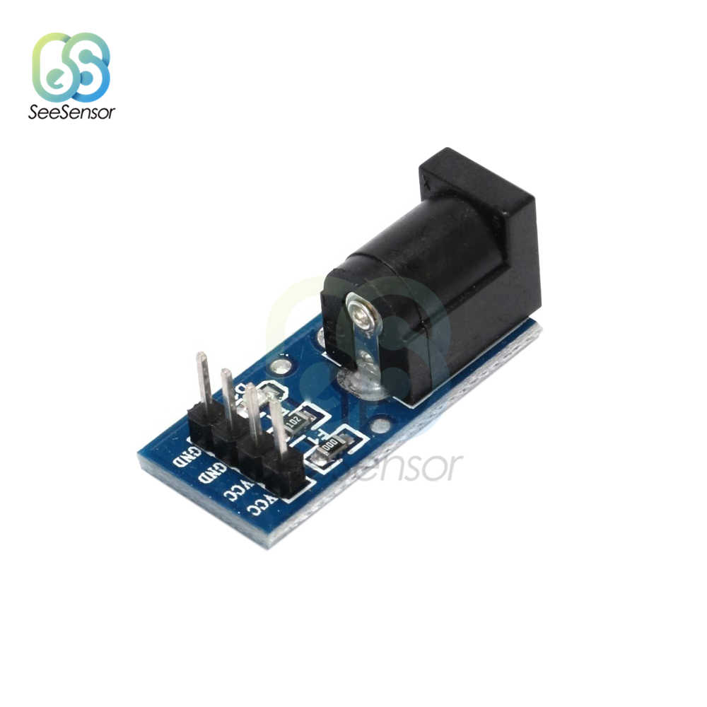1Pcs 5.5mmx 2.1mm DC Jack Socket Plug Power Supply Module DC Power Adapter Board For Arduino 5.5 x 2.1mm