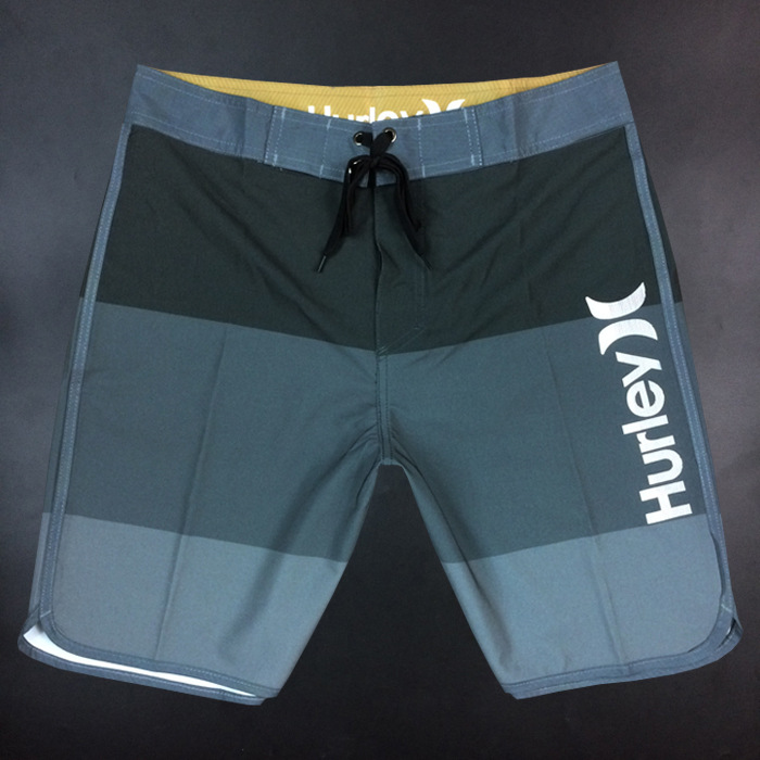 Summer MEN'S Beach Shorts Casual Sports Hot Springs Fitness Game Shorts Quick-Dry Large Size