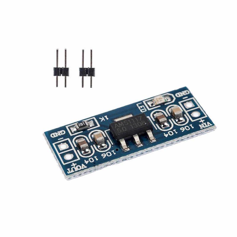 1 10 10 pces lm1117 ams1117 4.5-7 v transformar 3.3 v 5.0 v 1.5 v DC-DC v step down módulo de fonte de alimentação para arduino bluetooth raspberry pi