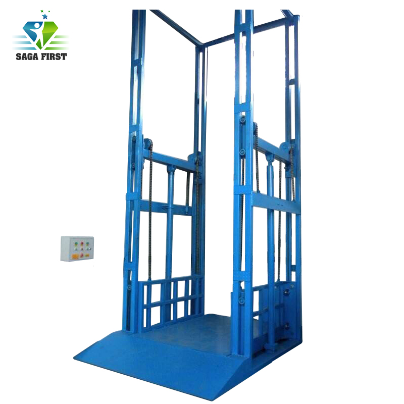 1~10tons Lifting Elevator Guide Rail Cargo Lifter