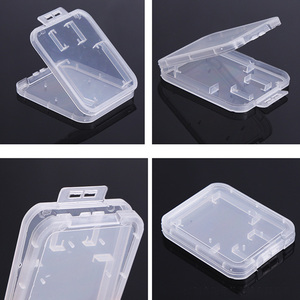 Image 5 - SD Card / TF Memory Card Storage Protection Box Camera Small White Box High grade Plastic Transparent Card Cases