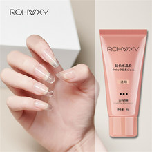 ROHWXY UV Builder Gel For Nail Extension Poly UV Nail Gel Polish For Manicure Tools 30/15ML UV Gel Varnish For Nails Art Design