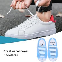 Free Tie-Free Lazy Laces Joker Silicone Adult Elastic Lace Lazy Stretch Without Tie Lace Free Ride Silicone Lace