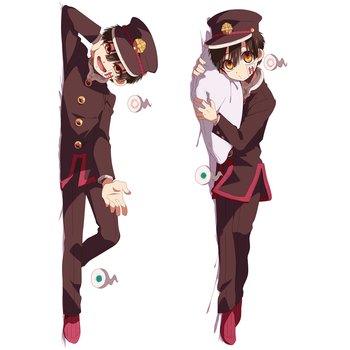 Hot Anime Toilet-Bound Hanako-kun Dakimakura Yugi Amane Male Hugging Body Pillow Case Home Bedding Otaku Throw Pillow Cover