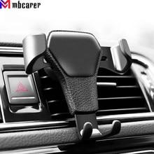Gravidade montagem do carro para o telefone móvel titular do carro clipe de ventilação de ar suporte de telefone celular gps suporte para iphone 11 xs x xr 7 samsung huawei